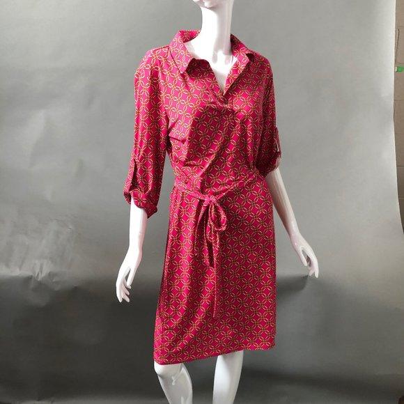 Laundry By Shelli Segal Dresses & Skirts - Laundry by Shelli Segal Fuschia Dress Sz Sm